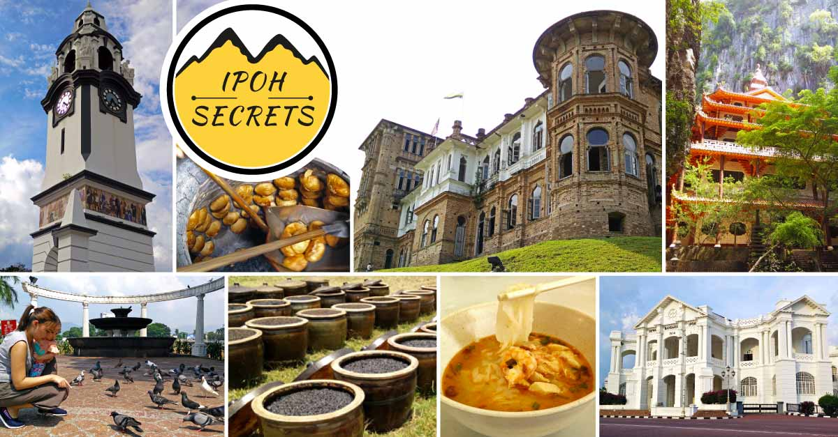 Ipoh Secrets Tour Collage