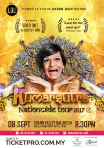 """Kumarsutra"" Nationwide Tour in Ipoh"
