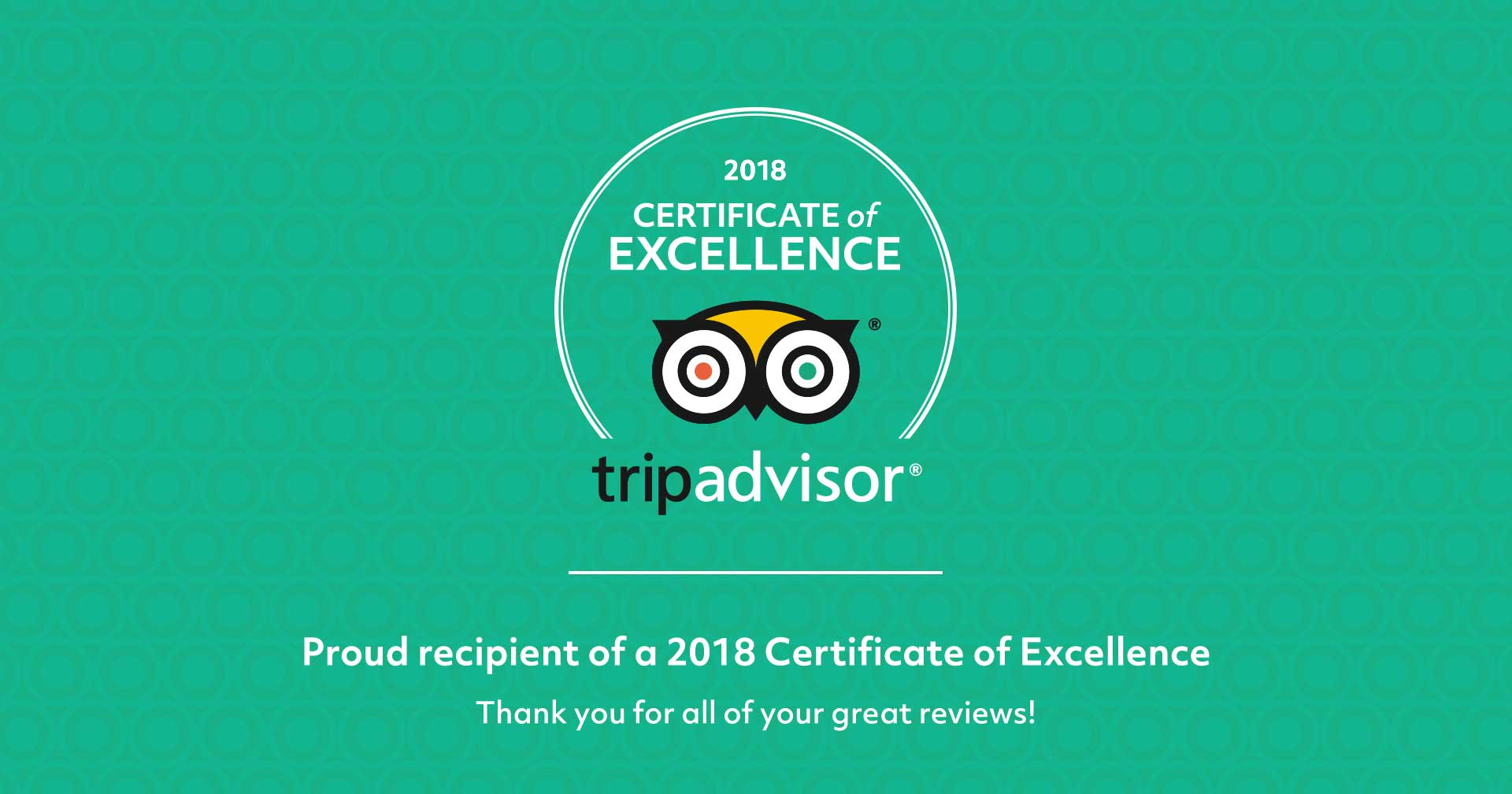 Certificate of Excellence 2018, Two Years in a Row! | Ipoh Secrets