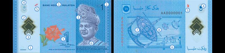 RM1 Ringgit Malaysia (4th Series)
