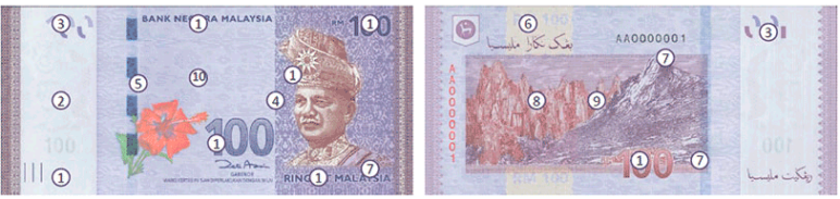 RM100 Ringgit Malaysia (4th Series)